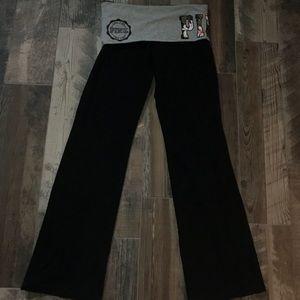 •black PINK yoga pants